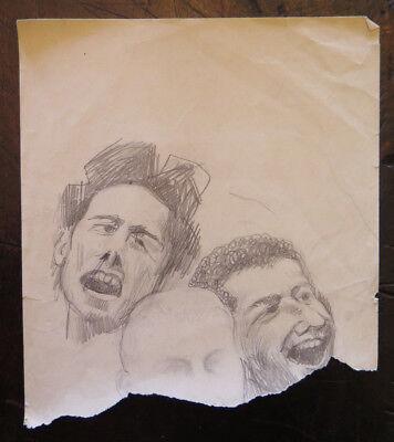 Zeichnung Studio (Zeichnung Antike mit Studio für Gesichter Echthaar Porträts Männlich Katalog)