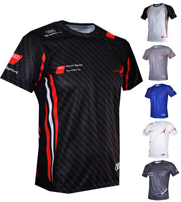 Audi T-shirt S-line DTM Maglietta Camiseta A3 S3 S4 A4 RS4 RS6 S5 A6 S6 RS7 - Led T-shirt Halloween