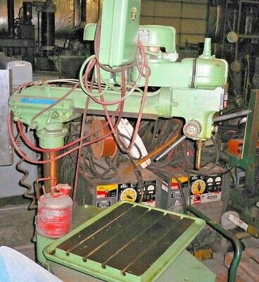 30 Rockwell Radial Arm Drill Press 7 Quill Travel 12 Hp 230460v-3-60