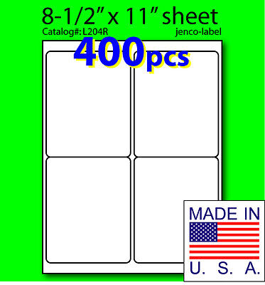L204r 400 Mailing Shipping Laser Inkjet 4x5