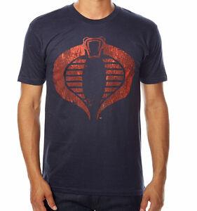 Nwt licensed g i joe t shirt vintage superhero cobra free for Retro superhero t shirts