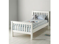 Little white company bed