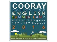 Cooray's School of English Summer Camp 2016 CZ