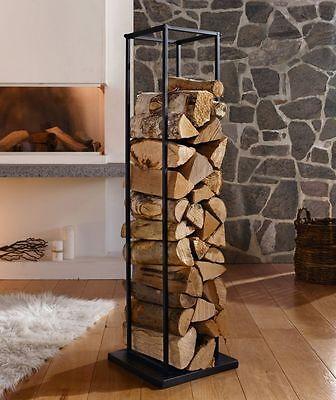 kaminholz st nder modern aus metall regal halter. Black Bedroom Furniture Sets. Home Design Ideas