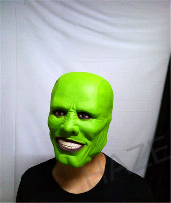 The Mask Movie Jim Carrey Cosplay Halloween Party Funcy Dress YUI