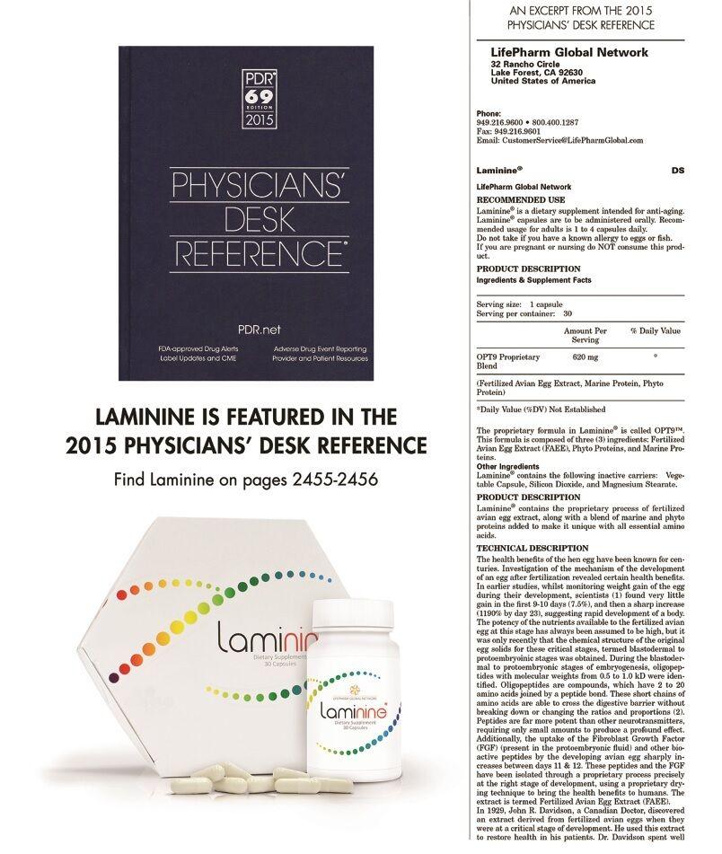 Laminine supplement 120 count MEGA-bottle, LifePharm Global, as low as $116.95 5
