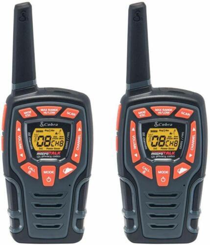Cobra CXT565 32 Mile Range 22 Channel Walkie Talkie 2-Way Radio - 2 Pack