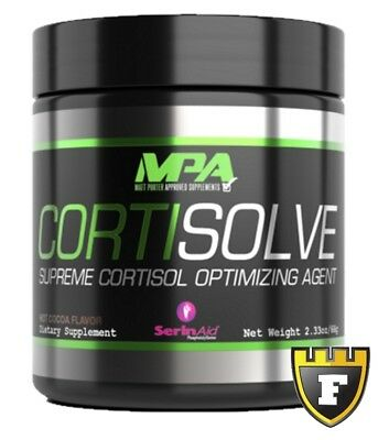 MPA Cortisolve (Peanut Butter) Testosterone & Muscle Growth for Bodybuilders