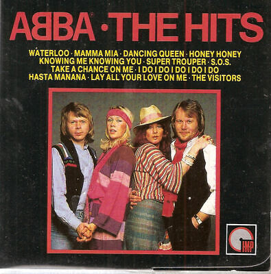 ABBA - The Hits CD Free Ship #FRH