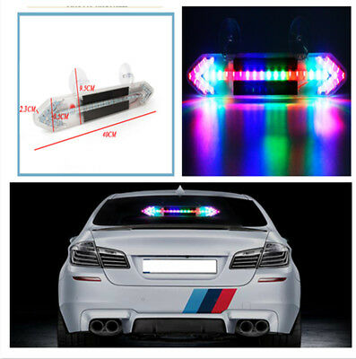 Arrow Shape Solar Car Brake Led Flashing Warning Lights Driving Lights For Car