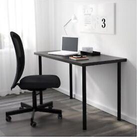 Black Wooden Table / Desk