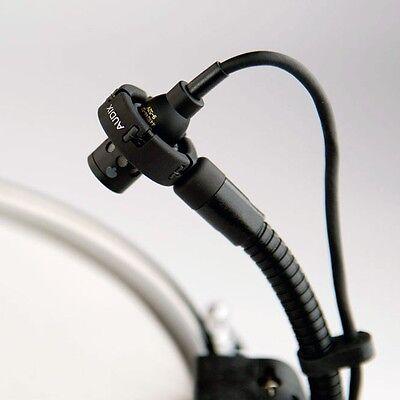 NEW Audix Micro D Drum Condenser Microphone Gooseneck w/ Rim -