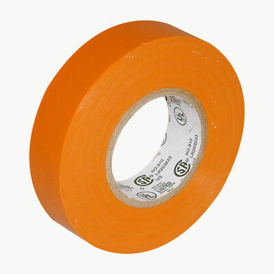 Jvcc E-tape Colored Electrical Tape 34 In. X 66 Ft. Orange