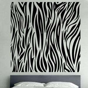 zebra animal print decal vinyl wall sticker sd11 ebay animal print wall decals amp wall stickers zazzle