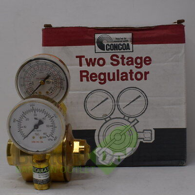 Concoa 40 Psi Nitrogen Two Stage Cga 555 Regulator
