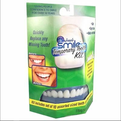 Instant Smile Temporary Tooth Kit Temp Repair Replace Missing DIY Safe & Easy](Diy Safe)