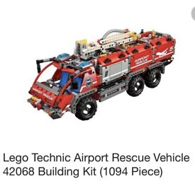 42068 lego technic fire rescue vehicle 'as new!'