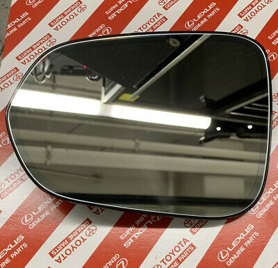 Lexus NX200t NX300h RX450h 16-19 LEFT Auto Dim Mirror Glass w/ Blind Spot G653L