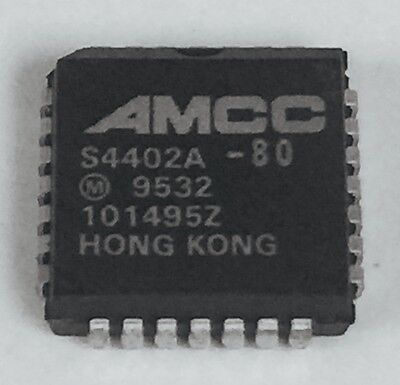 1pc S4402a-80 Amcc Pll Clock Generator Single 20mhz To 80mhz 28-pin Plcc New
