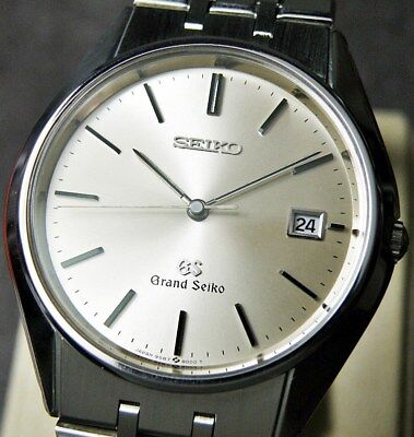 GS GRAND Seiko 9586-8000 /Quartz / Cal.9586 / DATE MEN