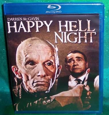 NEW OOP CODE RED DARREN MCGAVIN SAM ROCKWELL  HAPPY HELL NIGHT MOVIE BLU - 1990 Halloween Movies