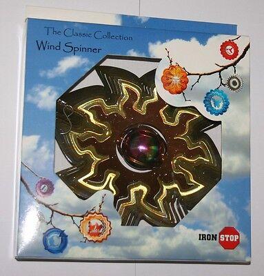 10  Steel Wind Spinner - Gazing Ball Sun Boxed