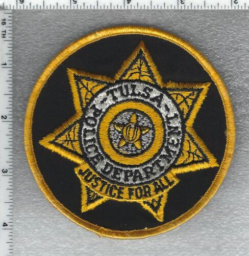 Tulsa Police (Oklahoma) Shoulder Patch