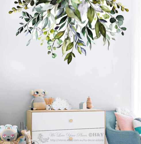 Home Decoration - Garden Branch Floral Wall Sticker Nursery Decal Baby Cot Home Decor Kids Art DIY