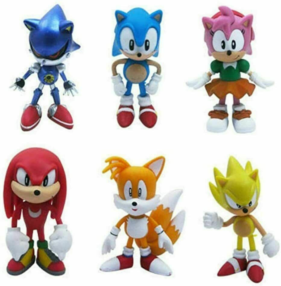Model:Sonic The Hedgehog:Justice League/Dragonball Z/The Avengers/FNAF/Sonic The Hedgehog Action Figures