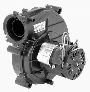 York 024 27641 000 furnace draft inducer blower 115v fasco for Furnace inducer motor replacement