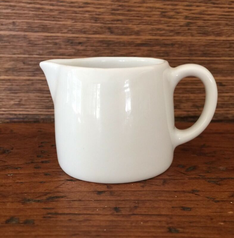 Langenthal Suisse white porcelain tiny small creamer pitcher 36 1504 EUC