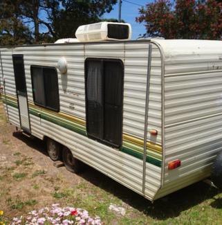19ft windsor caravan