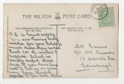 Aberdare 30 Aug 1907 Single Ring Postmark 849b