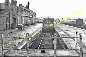Buxton Railway Station Photo. Millers Dale and Peak Forest Lines. Midland. (3)