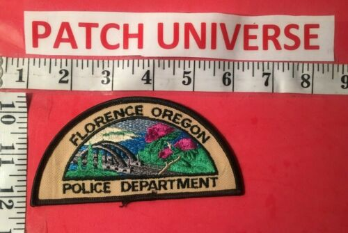 FLORENCE OREGON POLICE  SHOULDER PATCH 0019