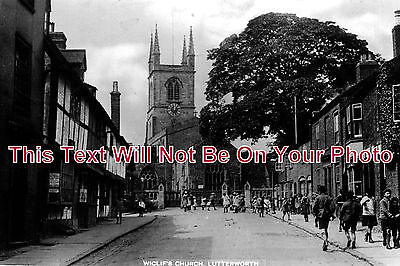 LC 38 - Wiclifs Church, Lutterworth, Leicestershire - 6x4 Photo