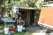 Trak Shak Camper trailer, Single Queen setup. Aldinga Beach Morphett Vale Area Preview