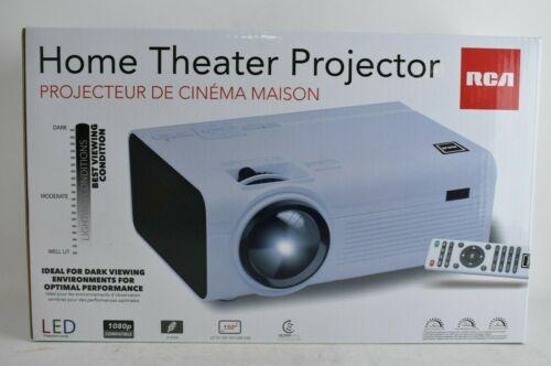 RCA RPJ136 2200 Lumens Home Theater Projector 1080p HDMI