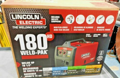Lincoln Electric Weld- Pak 180HD Wire Feed Welder (F25)