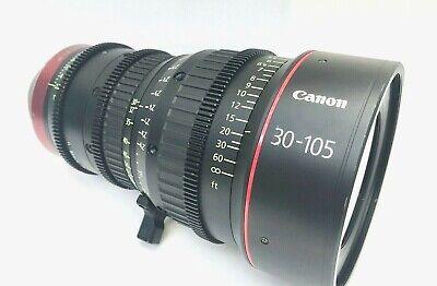 Canon CN-E 30-105mm T2.8 L S PL Mount Compact Zoom Lens