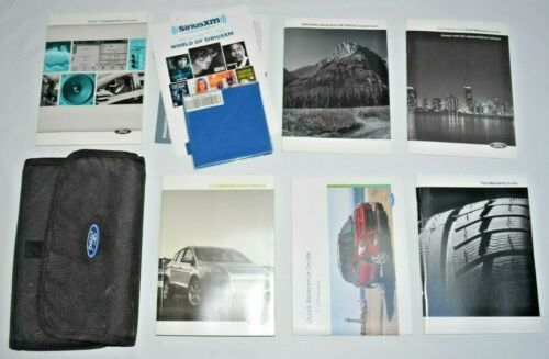 2016 FORD ESCAPE OWNERS MANUAL GUIDE BOOK SET WITH CASE OEM