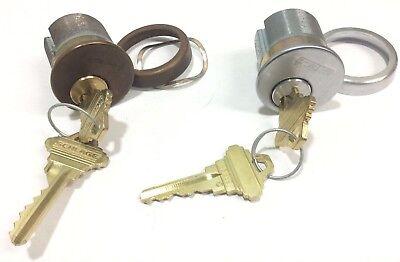 Schlage 1 14 Mortise Cylinder Set Of 2 Locksmith