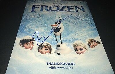 Idina Menzel Sexy Singer Actress Frozen Signed 11X14 Photo Autographed W Coa Im