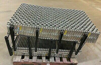 Best Flex Portable 410 To 10 Expandable Skate Wheel Roller Conveyor
