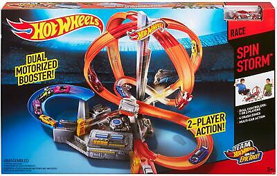 Hot Wheels Spin Storm Track Set NEW BEST TOY FOR BEST CARS FREE SHIPPING (Best Hot Wheels Track Set)