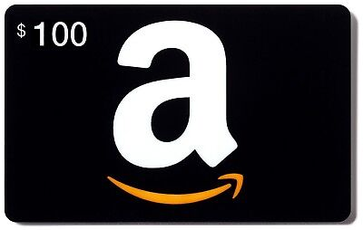 Unused $100 Amazon Gift Card, new | U.S. Mail Delivery with tracking