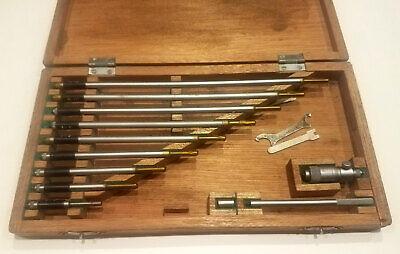Mitutoyo Inside Micrometer No.141-133 Ims 12 In Original Case Made In Japan