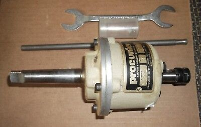Nice Procunier Size1-14 Cap Tapping Head2 Morse Taperw4 Collets New Condition
