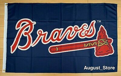 Atlanta Braves 3x5 ft Flag Banner MLB ATL