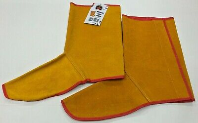 Cowhide Leather Welding Cover Feet Shoe Welder Protection